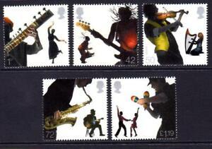 2006 EUROPA INTEGRATION SOUNDS OF BRITAIN Stamp Set MNH SG 2667-2671 GB Mint