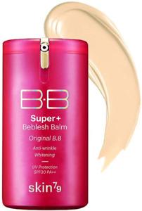 SKIN79Super + Beblesh Balm BB Cream Triple Function hot Pink Label SPF3040g