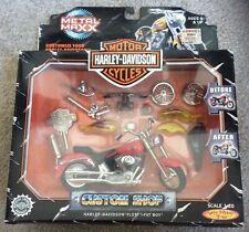Harley-Davidson FLSTF Fat Boy Custom Shop 1:20 Scale Die-Cast by Metal Maxx