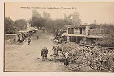 27772 AK Samarqand Usbekistan 1. Weltkrieg Straße  Marktstände Gebäude 1915 WW1