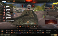 World of Tanks 5 years old account E100 and 3  IX tier tanks WOT NORTH AMERICA
