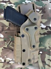 New Safariland Tactical Gun Glock Right or Left hand Holster coyote tan