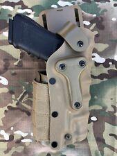 New Safariland Tactical Gun Glock Right hand Holster coyote tan