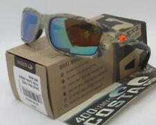COSTA DEL MAR realtree/green mirror ZANE XTRA CAMO POLARIZED 400G sunglasses NEW