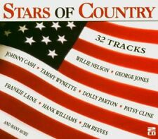 "Stars Of Country Various 2CD Set ""32 Tracks"" NEW & SEALED 1st Class Post From UK"