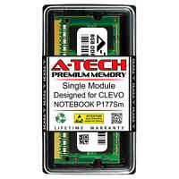 8GB PC3-12800 DDR3 1600 MHz Memory RAM for CLEVO NOTEBOOK P177SM