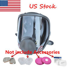 Large View Dust Gas Mask For 6800 Full Face Facepiece Respirator Painting Spray