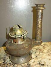 ANTIQUE 1889 VICTORIAN TIN DIETZ BESTOV HAND LANTERN OIL LAMP PARTS REPAIR
