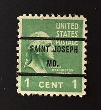 St. Joseph, Missouri Precancel - 1 cent Prexie (U.S. #804) MO
