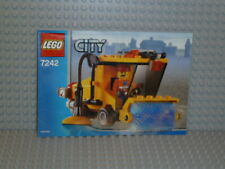 LEGO® City Bauanleitung 7242 Kehrmaschine Street Sweeper instruction B5098
