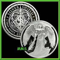 2021 1oz Sword of Truth Proof Silver Shield MiniMintage .999 Round PRESALE ***