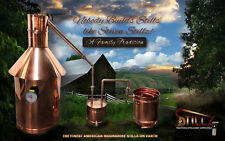 Copper Moonshine Still 6 Gallon with Thumper and Worm The Best Built on Ebay