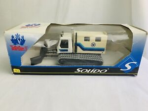 Solido Snow Plough Dameur Expedition No 3602 Box Poor Unused Made In France