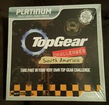 Top Gear Challenges South America Board Game - bbc - imagination - free shipping