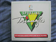 VINTAGE SPORTING TRIANGLES BOARD GAME. STILL SEALED. 1987. Central Television.
