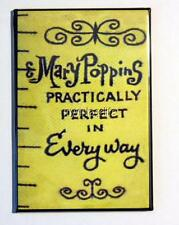 """Mary Poppins Tape Measure Practically Perfect 2"""" x 3"""" Fridge MAGNET art movie"""