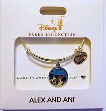 "Disney Parks ALEX & ANI bracelet ""2019"" Mickey & Minnie - NEW"
