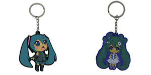 Vocaloid double sided PVC key chain