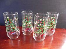4 Nikko Christmastime/Happy Holidays 16 oz tumblers (3 sets available)