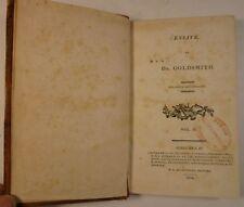 1804 Oliver Goldsmith ESSAYS vol. 2 Philadelphia DANIEL SHARP's copy