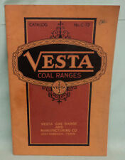 Vintage Vesta Coal Gas Ranges Stove Catalog 1920's Chattanooga TENN