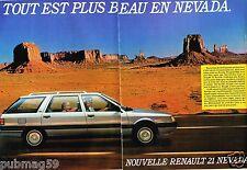Publicité Advertising 1986 (6 pages) Renault Nevada