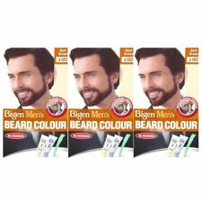 3 X Bigen Men's Beard Colour (dark Brown B103)