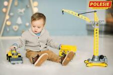 Toy Construction Machinery Set Tractor Lorry Truck Crane Play Car Large