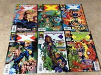 MUTANT X #1,2,2,3,4,5 LOT OF 6 NM COMIC 1998-1999 MARVEL