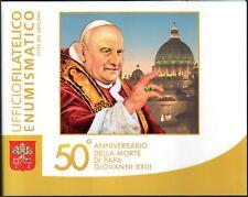 2013 Vaticano Folder Numismatico 50° Morte di Papa Giovanni  XXIII