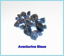 Lot 21 Pierres Roulées naturelles +++ AVENTURINE BLEUE +++ Quartz Bleu !