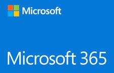 Microsoft 365 PC o MAC Suscripción (Original) 1 Año / renovación o cuenta nueva