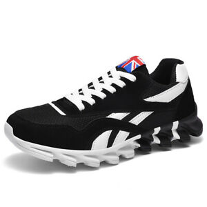 Men's Blade Sole Shoes Running Casual Tennis Outdoor Athletic Non-slip Sneakers