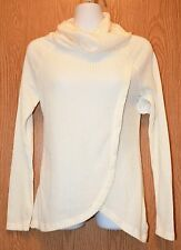 Junior Womens Ivory Self Esteem Long Sleeve Turtleneck Shirt Size Medium NWT NEW