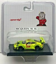 Spark Model Sparky Porsche 911 Gt3 R Manthey Racing Fia Gt World Cup Macau 2018