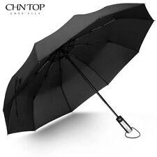 Free Shipping Wind Resistant Folding Automatic Umbrella 10 Ribs