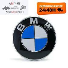 Logo BMW 82mm Capot Coffre Emblème E46 E90 E92E60 E34 E36 E39 X3 X5 X6 M3 M5 M6