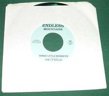 THE LY-DELLS - Here That Train/Three Little Monkeys (45 RPM Single) NM-