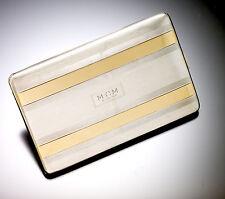 Retro 14K Gold & Sterling-Silver Cigarette Case from 1948