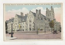 Harkness Memorial Quadrangle Yale University New Haven USA Postcard 881a