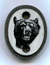 Grip Cap Thompson Center Encore/Omega G2 Gun Stock Black Bear White Background