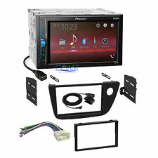 Pioneer 2018 Bluetooth Multimedia Stereo Dash Kit Harness for 2002-06 Acura RSX