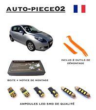 Renault Scenic III v//5 05 2009-2013 Acier Inoxydable Seuils Set Matt