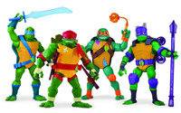 Teenage Mutant Ninja Turtles TUAB3000 Flair The Rise Giant Action Figures