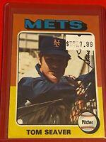 🔥 1975 Topps Baseball Card Set #370 🔥 NEW YORK METS 🔥 TOM SEAVER