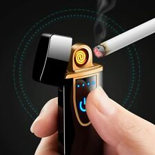 Lighter USB Rechargeable Arc Electric Windproof Flameless Dual Plasma cigarette