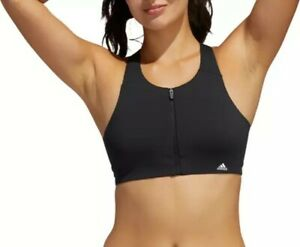 New ADIDAS Black High Support Ultimate Sports Bra Size 36F