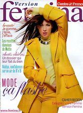 ▬► Version FEMINA - N°293 du 11 Novembre 2007 - Mode Flash - NÂDIYA