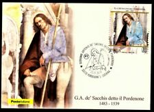 Italy 2019: Giovanni Antonio de sacchis-postcard, revoke Pordenone