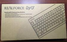 Topre Realforce 87 10th Anniversary Edition 30-45-55 Silent Tenkeyless Keyboard